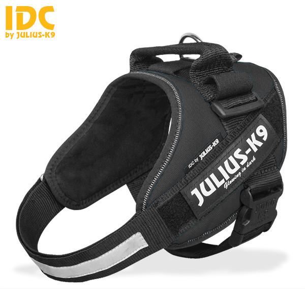 Julius-K9 IDC Powertuig voor labels, zwart