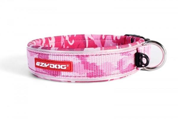 EzyDog Neo Classic halsband, Pink Camo
