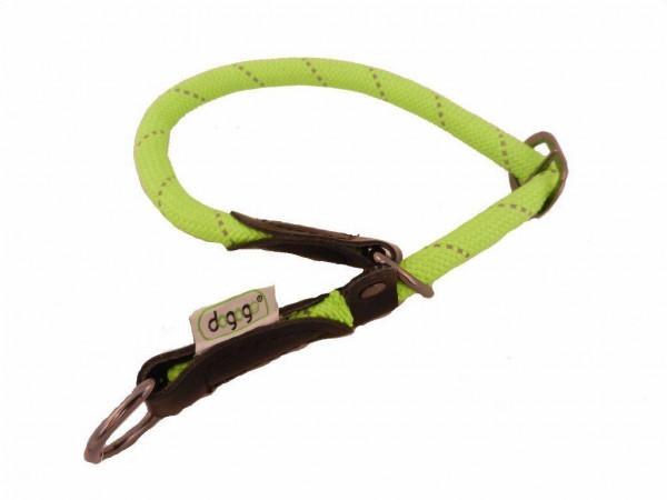 Dogogo nylon sliphalsband groen