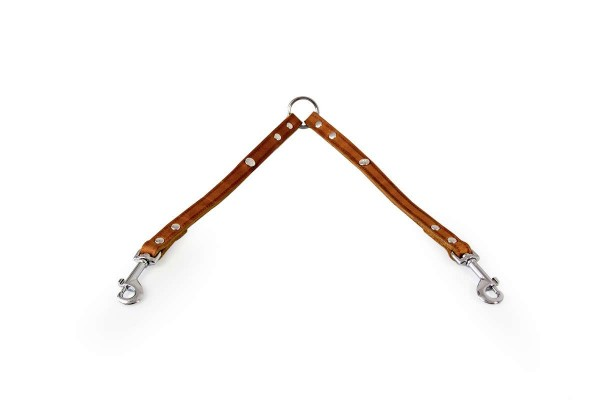 Das Lederband dubble verlengriem Weinheim, maroon
