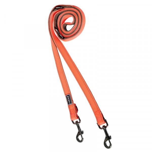 Rukka Pets Form Neon riem, Neon Oranje