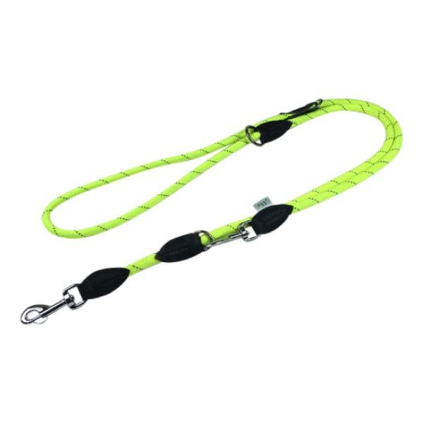 Dogogo verstelbare touw lijn 12mm breedte, geel