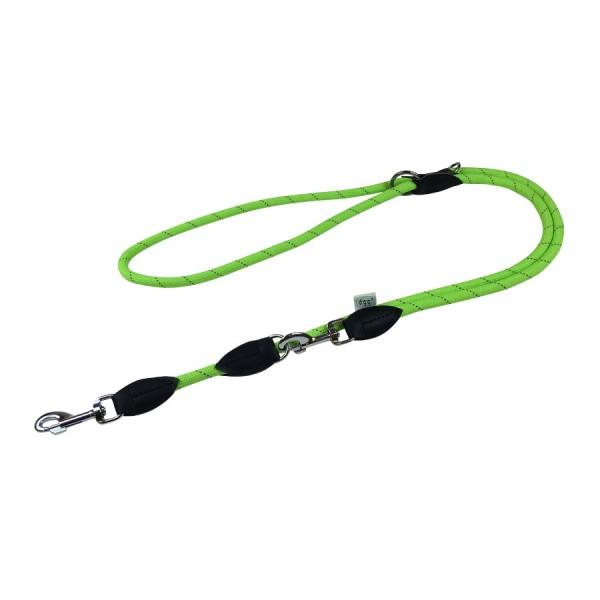 Dogogo verstelbare touw lijn 12mm breedte, groen