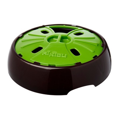 Aikiou Junior Interactive Bowl, bruin/groen