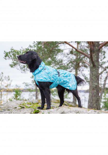 Rukka Pets Drizzle honden regenjas, aqua