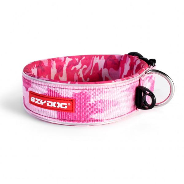 EzyDog Neo WIDE halsband, Pink Camo