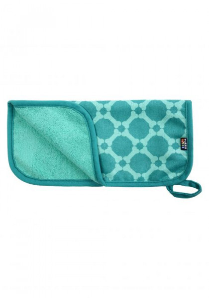 Rukka Micro Paw Handdoek 2 Stuk/Set, emerald