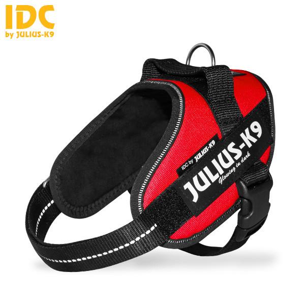 Julius-K9 IDC Powertuig voor labels, rood