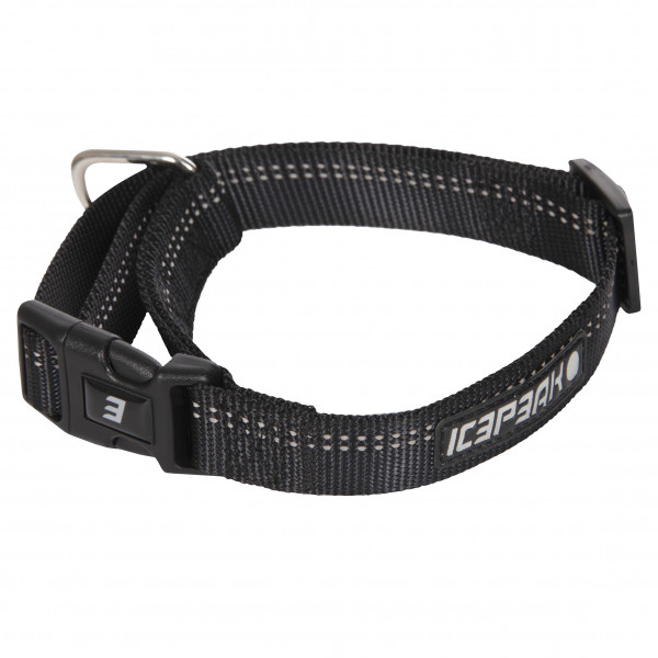 Icepeak Pet Winner Basic Halsband, Zwart