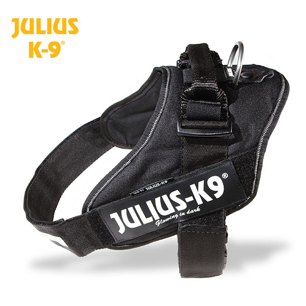Julius-K9 IDC Powertuig met K9 Security Lock, Zwart