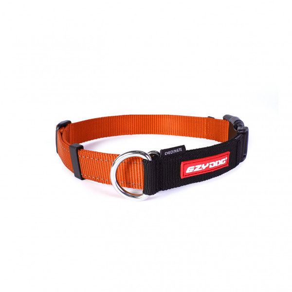 EzyDog Checkmate Halsband, Oranje