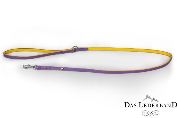 Das Lederband riem Firenze, Lilac/ Sunshine