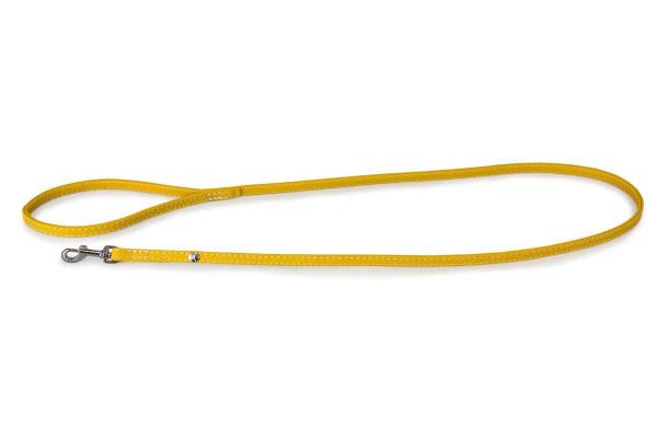 Das Lederband Looplijn Barcelona, Vibrant-Yellow