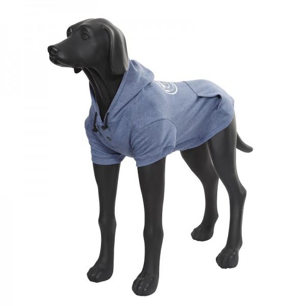 Rukka Pets Hoody College Sweatshirt, Jeans Blue