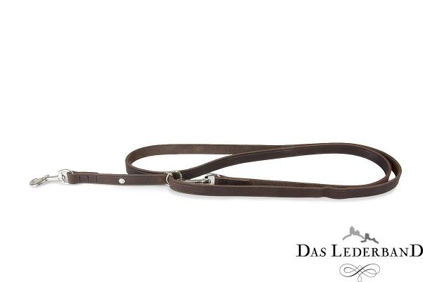 Das Lederband Traploos Verstelbare Looplijn Weinheim, Mocca